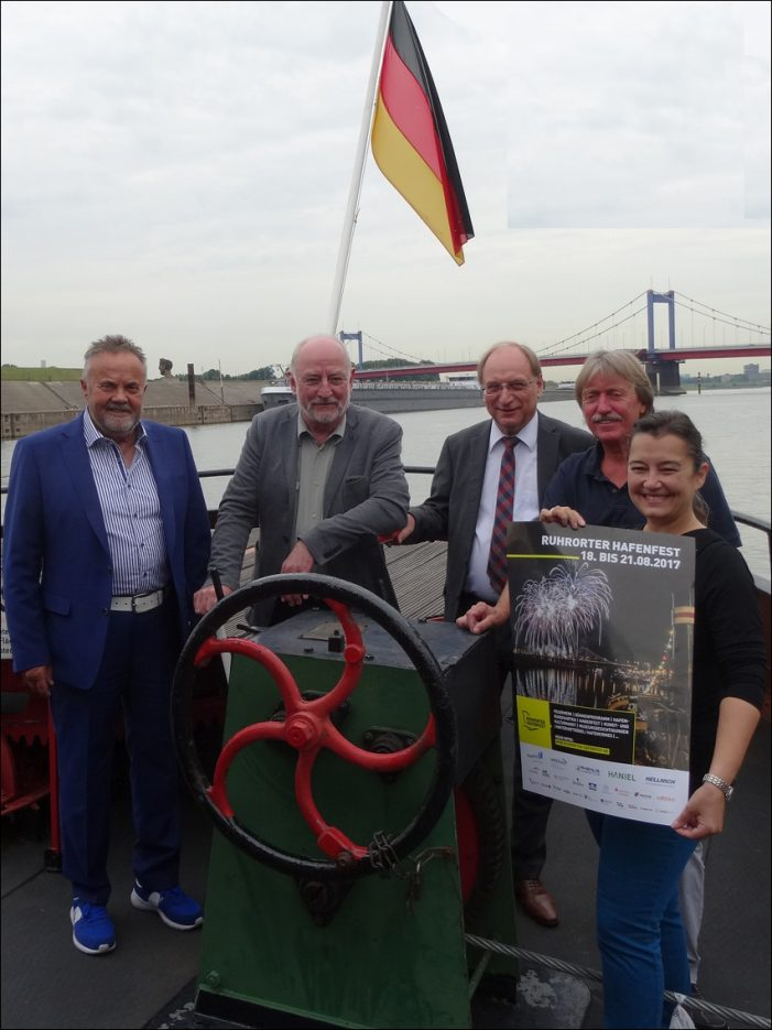 Duisburg: 24. Ruhrorter Hafenfest wirft seine Schatten voraus