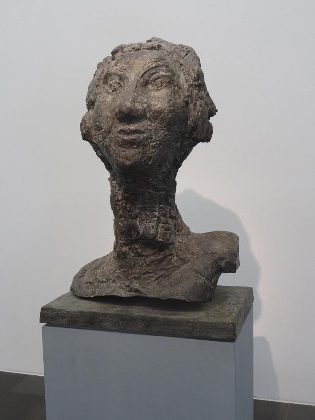Markus Lüpertz: Judith (Bronze,1995). Foto: Petra Grünendahl.