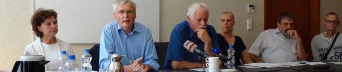 Stiftung Duisburg 24.7.2010: Sechster Jahrestag der Loveparade-Katastrophe
