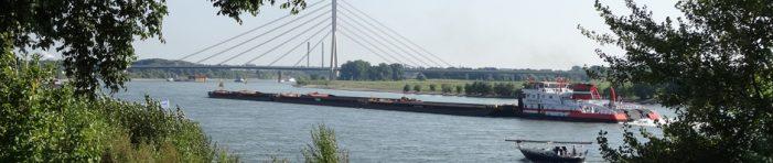 DeltaPort vor Ort: Festliche Übergabe der Kaimauer im Stadthafen Wesel