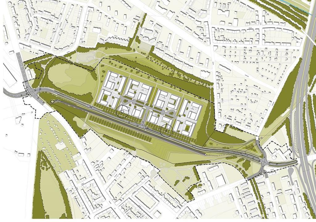Plan von Schacht 2-5. Quelle: thyssenkrupp.
