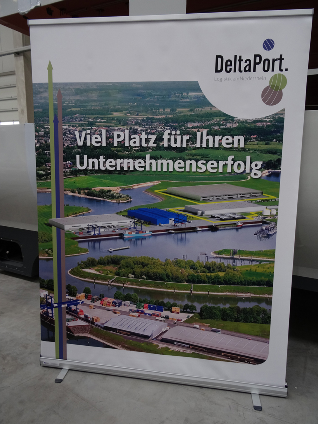 Vision: so soll der Rhein-Lippe-Hafen bald aussehen. Foto: Petra Grünendahl.