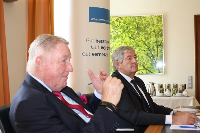 Unternehmerverband Duisburg: stellt Ergebnisse der aktuellen Konjunktur-Umfrage vor