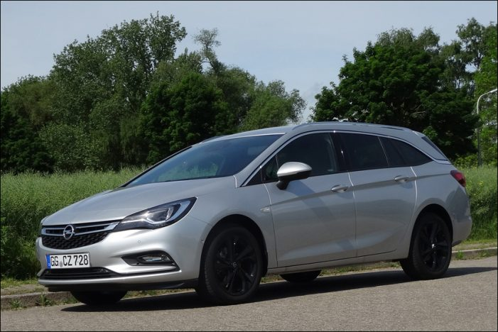Opel Astra K Sports Tourer 1.4 DI Turbo
