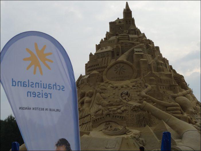Sandburg-Weltrekord in Duisburg: Marketing-Club informierte sich im Landschaftspark Nord