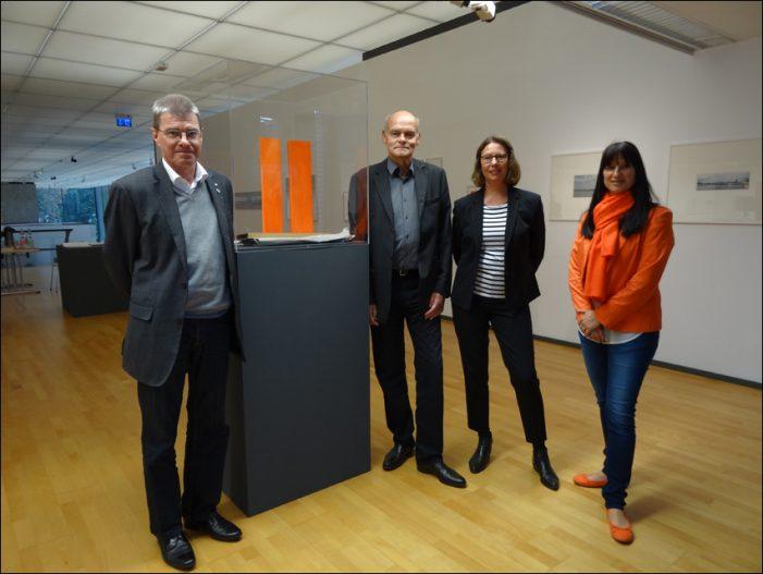 Studio-Ausstellungim Lehmbruck Museum Duisburg: 25 Jahre Rheinorange