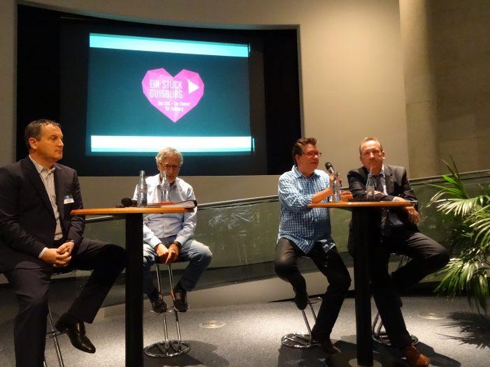 Marketing-Club Duisburg-Niederrhein: Zum möglichen DOC kamen Investoren, Befürworter und Gegner zu Wort