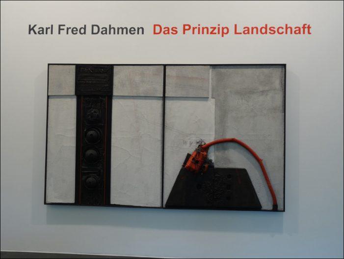 Karl Fred Dahmen im MKM Museum Küppersmühle in Duisburg