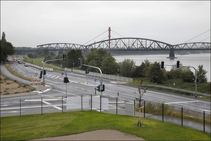 Baerl: Neuer Verkehrsknotenpunkt ermöglicht Zufahrt zum Gewerbegebiet