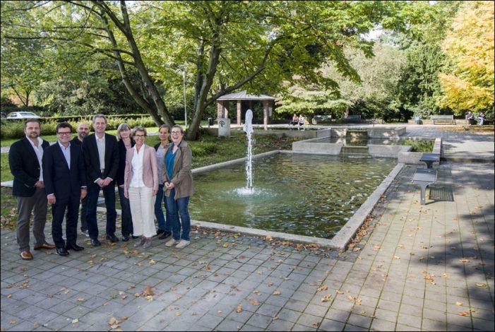 Sanierung Brunnen am Goerdeler Park im Duisburger Dellviertel abgeschlossen