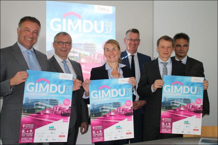 GIMDU: Gewerbeimmobilienmesse in Duisburg geht in die zweite Runde