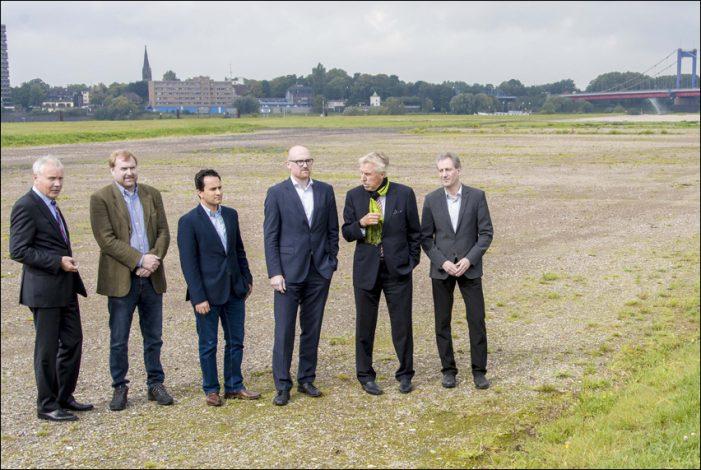 Duisburg Ruhrort: Ein Park für die Mercatorinsel