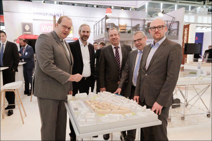 Expo Real: Erfolgreicher Messeauftritt von Stadt Duisburg, städtischen Institutionen und Wirtschaftsvertretern