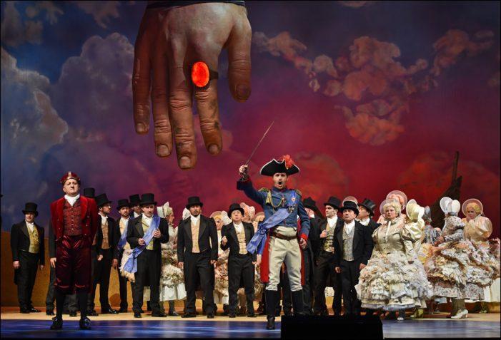 """Theater Duisburg: Familienoper """"Gullivers Reise"""" der Deutschen Oper am Rhein feierte begeisternde Premiere"""