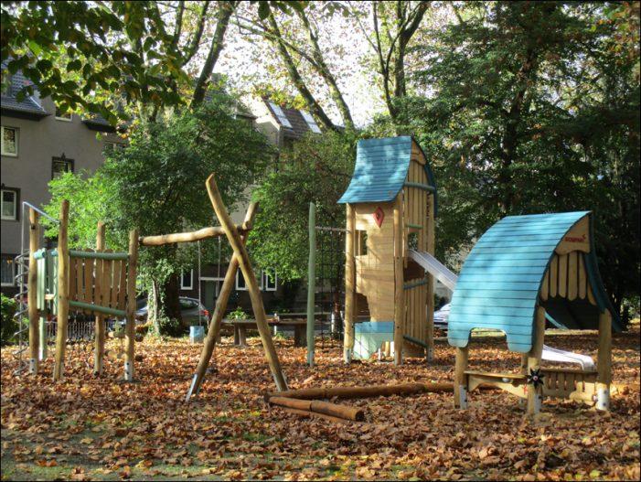 Friemersheim: Spielplatz Viktoriaplatz neu gebaut