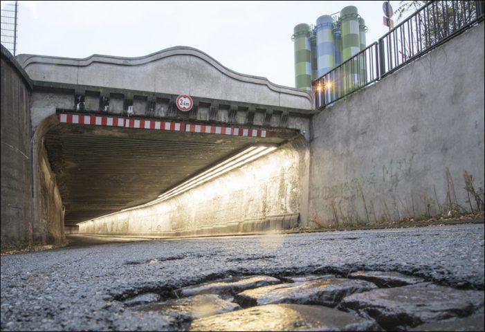 15.000 Tonnen Hüttensand: Maroder Matena-Tunnel wird verfüllt