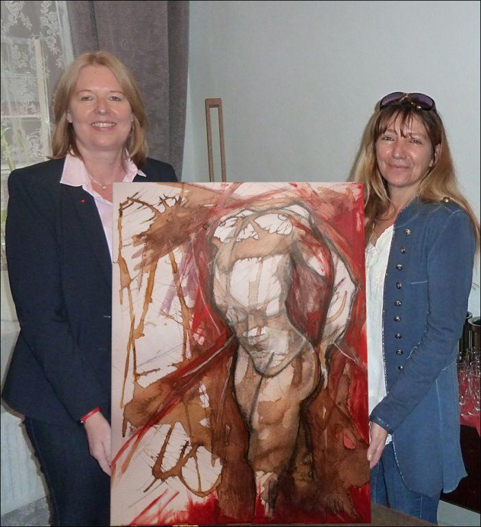 """Eröffnung der Ausstellung """"Wiener Melange"""" in Duisburg: Bilder von Astrid Gruber"""