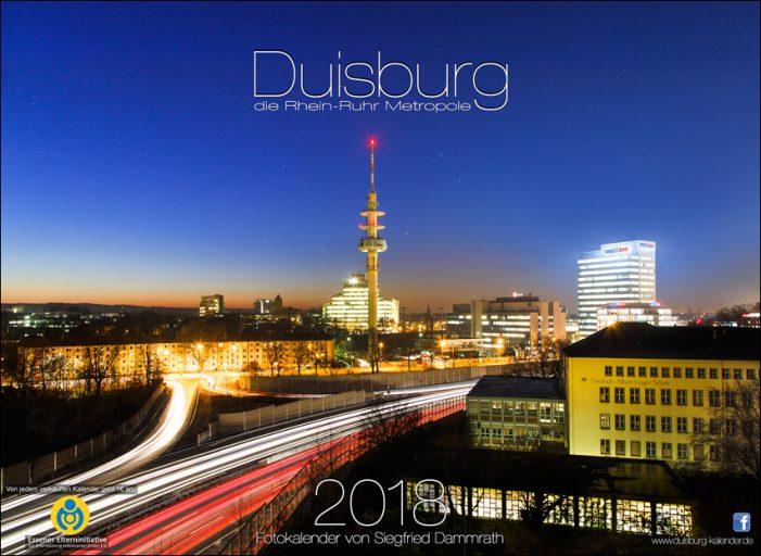 """Siegfried Dammraths Fotokalender 2018 erschienen: """"Duisburg die Rhein-Ruhr Metropole"""""""