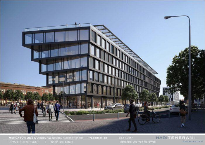 2. Gewerbeimmobilienmesse GIMDU in Duisburg: Investor im Gespräch über Mercator One