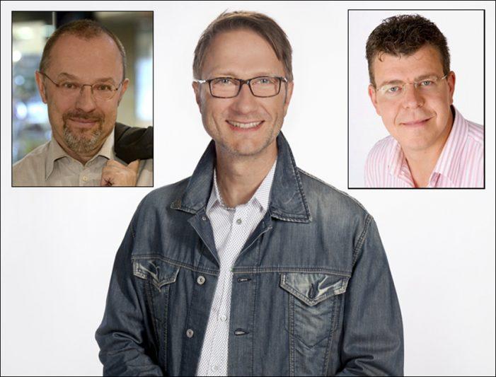 Talkshow mit Tom Hegermann und Uwe Schulz in der Stadtbibliothek