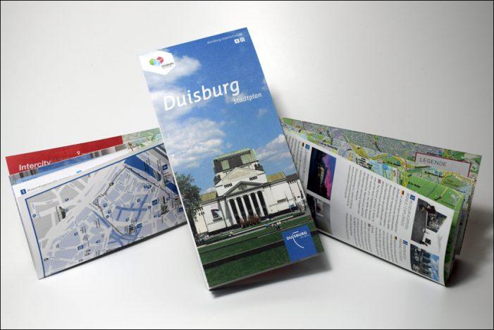Duisburg Kontor präsentiert neuen Stadtplan für Besucher unserer Stadt