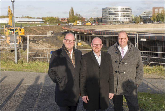 """Stadt Duisburg beginnt mit Baureifmachung für Innenhafen-Projekt """"The Curve"""""""