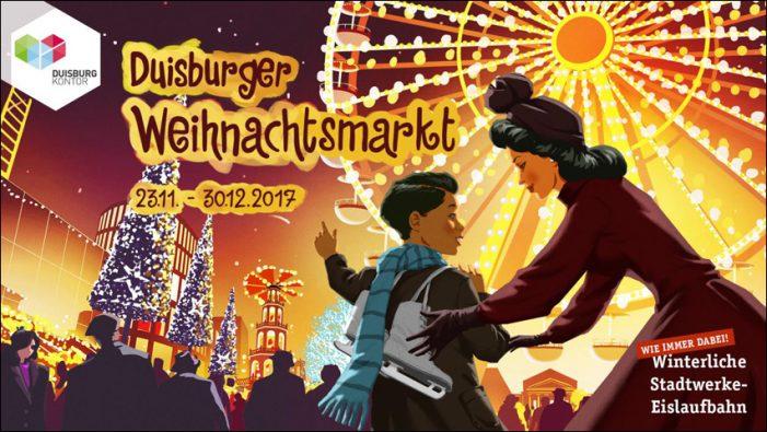 Weihnachtsmarkt 2017: Stimmungsvolles Lichtermeer in der Duisburger Innenstadt