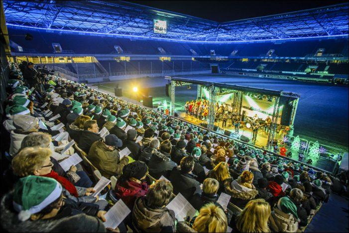 Stimmungsvoller zweiter Advent beim dritten Stadtwerke Duisburg Weihnachtssingen