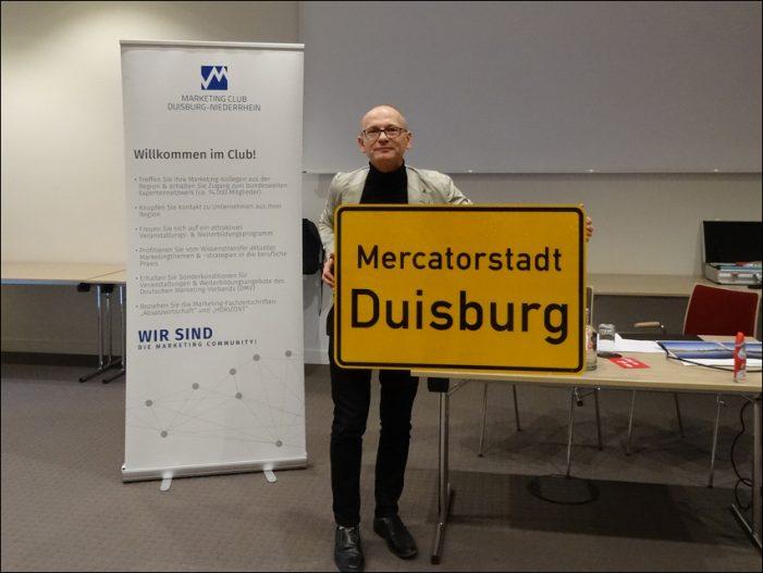 Marketing-Club Duisburg-Niederrhein: Hermann Kewitz stellte proDuisburg vor