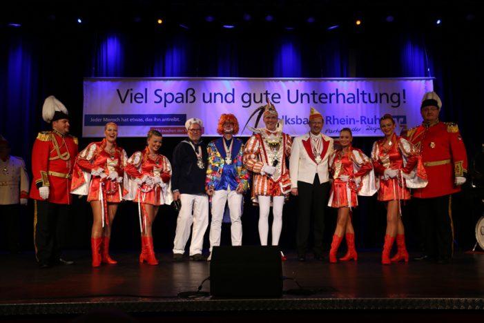 Corona: Auch Volksbank Rhein-Ruhr sagt Karnevalssitzung für Januar 2021 ab!