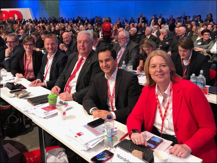 SPD-Duisburg: Parteitag beschließt ergebnisoffene Gespräche mit CDU/CSU