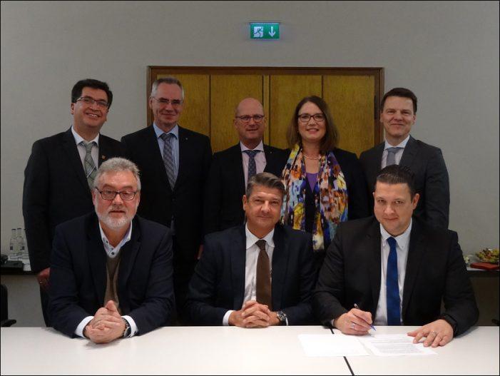 Neue Häfenkooperation stellt sich am Niederrhein auf: Rheinberg-Orsoy, Voerde, Wesel und Emmerich