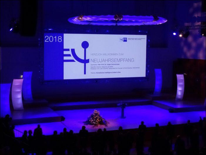 Neujahrsempfang 2018 der IHK in Duisburg: #GemeinsamFürDenNiederrhein
