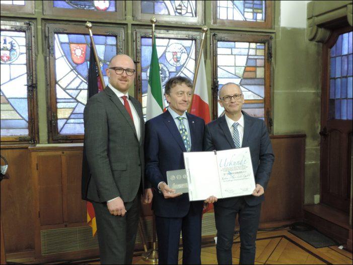 proDuisburg e.V. ehrte Krohne Messtechnik mit Duisburger Kaisermünzenpreis 2017