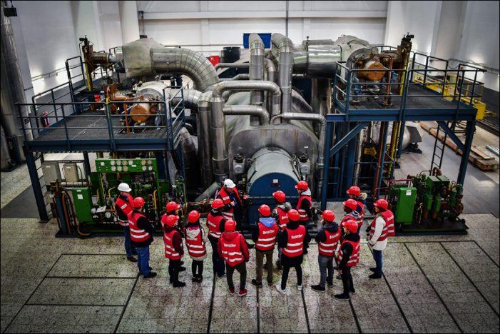Heizkraftwerk der Stadtwerke Duisburg in Hochfeld öffnet letztmalig seine Türen für Besucher