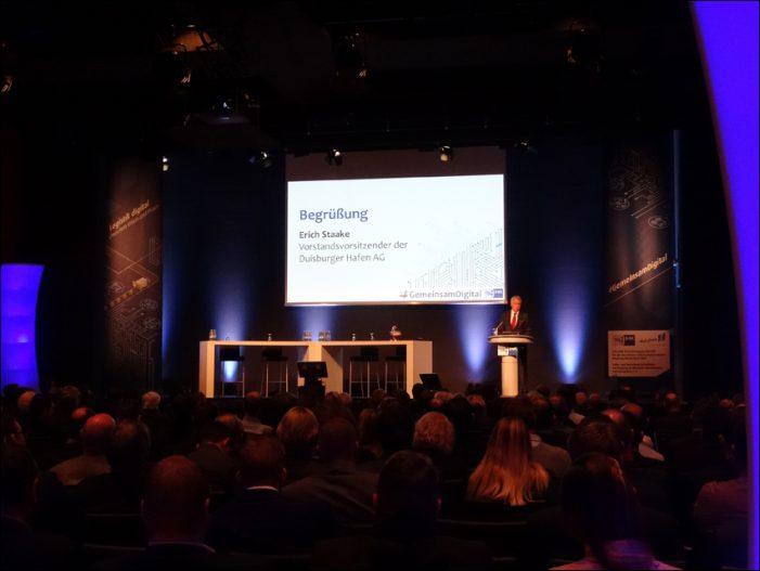 Kongress der Niederheinischen IHK in der Mercatorhalle Duisburg: Logistik digital – Zwischen Vision und Praxis