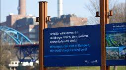 Mehr Überblick im Hafenstadtteil: Neue Infotafeln führen Besucher zu den Ruhrorter Attraktionen