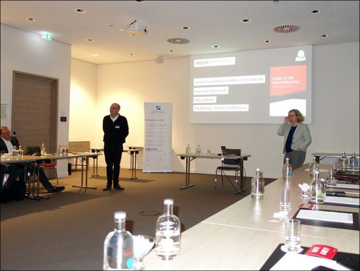 Kommunikationsexpertin Dr. Kerstin Hoffmann beim Marketing-Club Duisburg-Niederrhein
