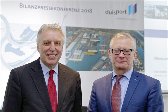 Bilanzpressekonferenz: Duisburger Hafen AG weiter auf Wachstumskurs