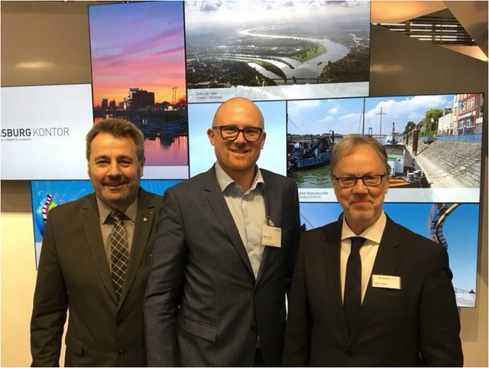 Duisburger Touristiker freuen sich über äußerst positives Feedback auf der ITB 2018