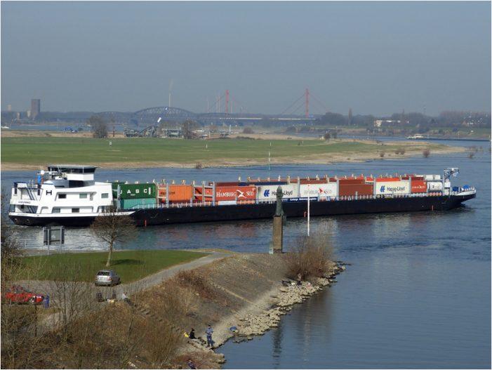 Haushaltsberatungen im Deutschen Bundestag: Wettbewerbsfähigkeit der Wasserstraße wahren