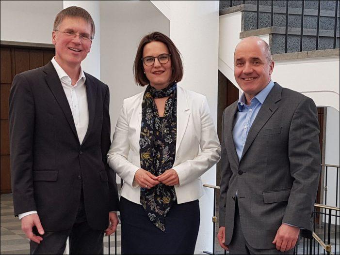 Niederrheinische IHK, Stadt Duisburg und Metropolregion Rheinland  wollen gemeinsame Potenziale bündeln