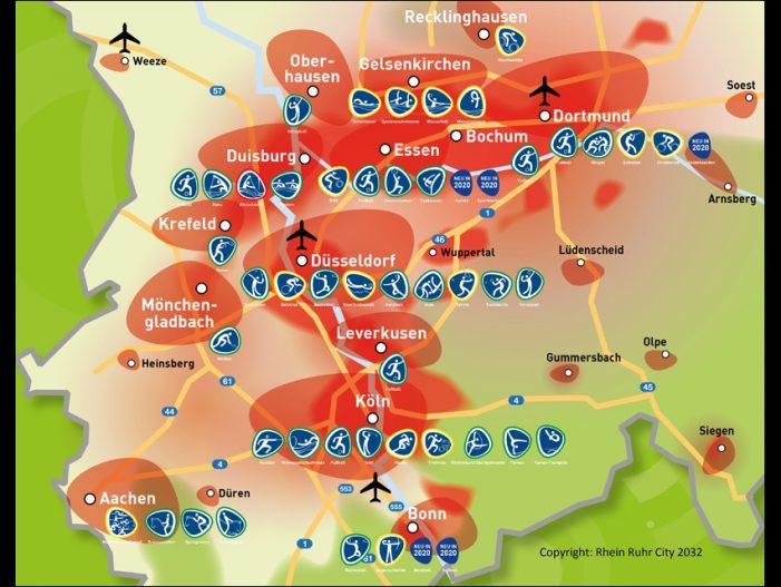 Rhein Ruhr City 2032: Konzeptpapier zur möglichen Bewerbung Olympischer und Paralympischer Spiele in Nordrhein-Westfalen