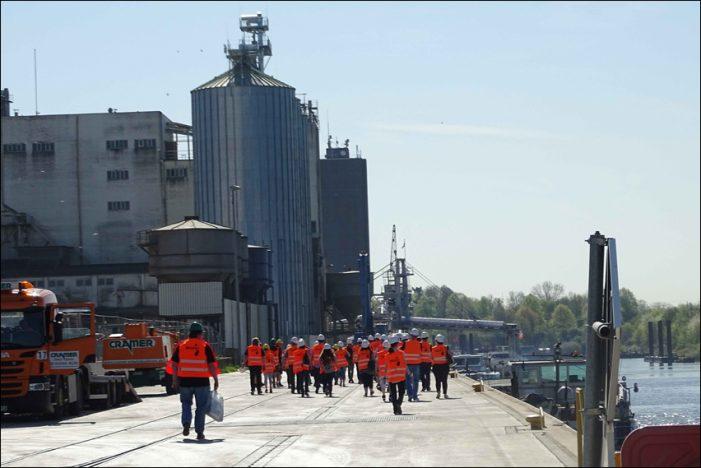 Tag der Logistik in Wesel: Hafenverbund DeltaPort lud zur Besichtigung ein