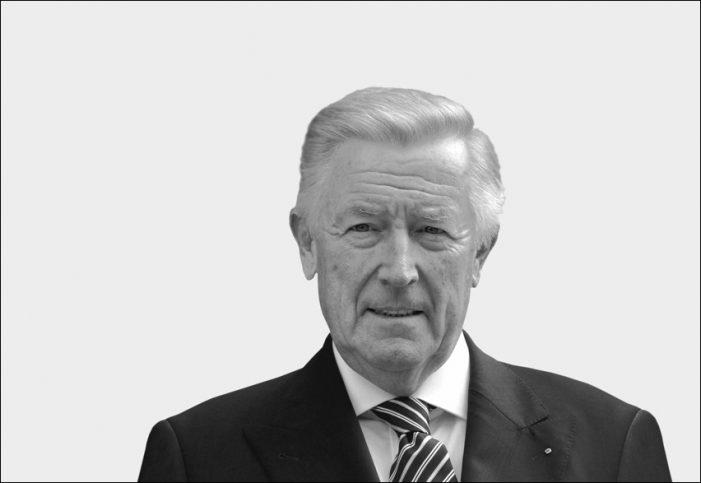 Unternehmerverband: Heinz Lison war ein unermüdlicher Kämpfer, ein erfolgreicher Macher und ein großes Vorbild