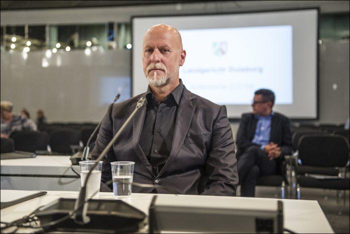 Lopavent-Geschäftsführer Rainer Schaller sagt im Loveparade-Strafprozess als Zeuge aus