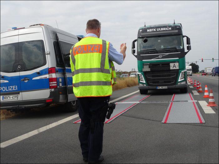Polizei Duisburg / Krefeld: Lkw-Kontrollen an der B288