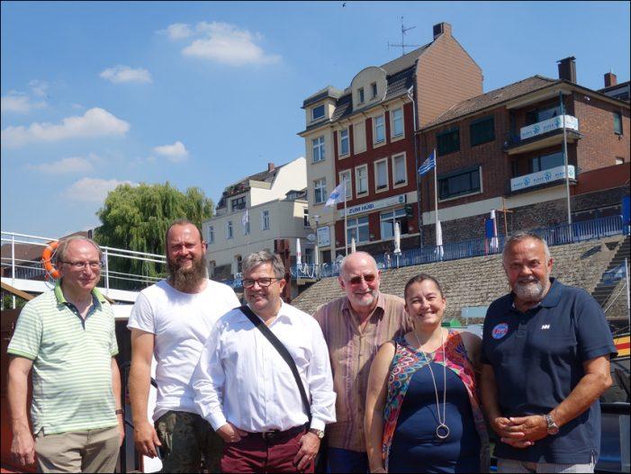 Duisburg: 25. Ruhrorter Hafenfest kommt mit Traumwetter und Höhenfeuerwerk