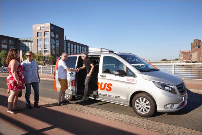 Duisburger Mobilitätsangebot myBUS im ACE-Test: Die Richtung stimmt