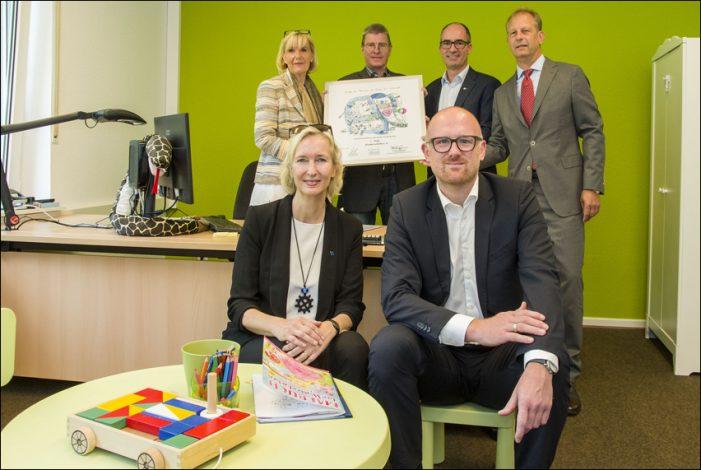 Welches Unternehmen ist in Duisburg besonders familienfreundlich?